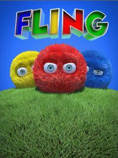 بازی موبایل Fling به صورت جاوا برای دانلود